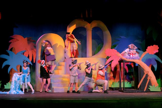Event Realization Lighting Design for Seussical the Musical